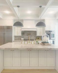 Master Bath Vanity, Door Paint Colors, Countertop Materials, Dark Interiors, Building A New Home, Green Kitchen, Visual Comfort, Custom Cabinets, Storage Cabinets