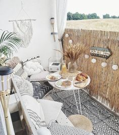 46 ways to turn your tiny balcony into an irresistible outdoor space 42 - Small Balcony Decor - Balcony Furniture Design Tiny Balcony, Small Balcony Decor, Outdoor Balcony, Outdoor Decor, Small Patio, Small Balconies, Balcony Garden, Balcony Furniture, Outdoor Furniture Sets