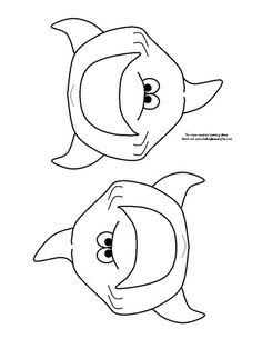 Friendly shark coloring page | Shark Coloring Pages ...