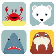 Image of Water Life Animal Card Pack