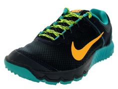 Nike Womens Zoom Wildhorse Drk ObsdnAtmc MngTrb GrnVlt Running Shoe 65 Women US >>> Click on the image for additional details.