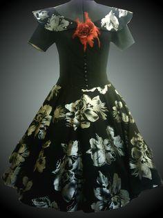 Design by Heidi  Kleider nach original 50er Jahre Schnitt von mir gefertigt Victorian, Clothes, Dresses, Design, Fashion, The Fifties, World, Gowns, Outfits