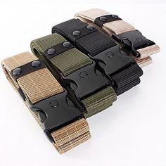 dipshop Tactical Outdoor Hunting Security SWAT Duty Utility Waist Belt  Black  * Continue to the product at the image link.