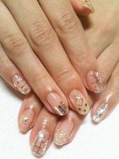 disco nails #nails #nailpolish #manicure