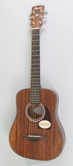 Ibanez AW54MINI New 2016 Artwood Guitar A 3/4 mahogany body guitar that is a blast to play and travels easily. Perfect younger beginners or a spare travel guitar. The AW54MINI delivers a big full tone