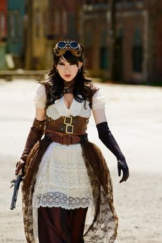 steampunk girl cosplay - Buscar con Google