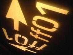 FlashForward logo lights up the wall