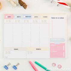 Organizador semanal Handmade
