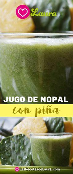 jugo de nopal con piña