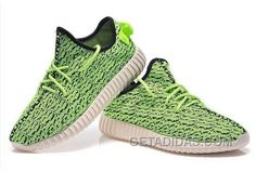 703b306d4b9 Adidas Yeezy Boost 350 Green Shoes Free Shipping
