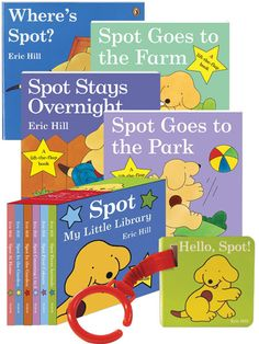 Spot board books - cannot say enough good things about this series!  Fun and interactive for the little ones.  A good quick read too...