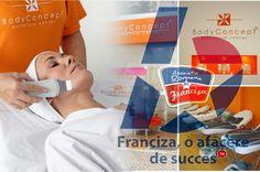 Franciza BodyConcept permite combinarea puternicului spririt antreprenorial european cu cerinte reduse ale nivelului investitional. BodyConcept ofera servicii de tip coafor (disponibile la centre de tip A) si tratamente corporale si faciale,   #BodyConcept