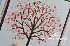 STAMPIN' UP! born2stamp Baum der Freundschaft Wie Du bist Baumwollband Stampin Up, Creations, Autumn, Home Decor, Projects, Friendship, Tree Structure, Craft, Fall