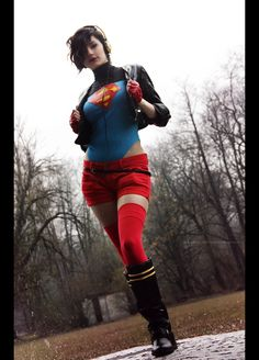 Female Superboy Cosplay