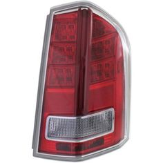 2013-2014 Chrysler 300 Tail Lamp RH, Assembly, Type 2, W/ Red Accent, Sedan