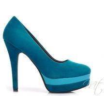 Damske modre lodicky Edmonda #pumps #shoes
