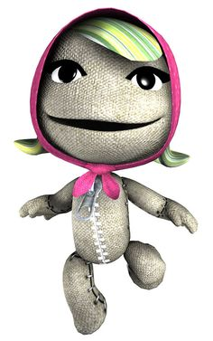Hooded Sackgirl, Little Big Planet