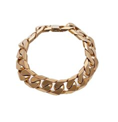 (18JD) 10ct Curb Link Bracelet n\A heavy curb link bracelet. 10ct yellow-rose gold. Weight 135.1 grams. Length 16.7 cm. Gemmologist's… / MAD on Collections - Browse and find over 10,000 categories of collectables from around the world - antiques, stamps, coins, memorabilia, art, bottles, jewellery, furniture, medals, toys and more at madoncollections.com. Free to view - Free to Register - Visit today. #Jewelry #Bangles/Bracelets #MADonCollections #MADonC Link Bracelets, Bangle Bracelets, Yellow Roses, Bottles, Mad, Stamps, Coins, Collections, Rose Gold