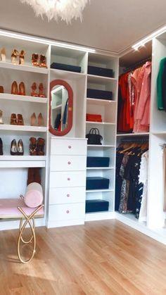 Wardrobe Interior Design, Bedroom Closet Design, Closet Designs, Home Decor Bedroom, Dressing Room Closet, Dressing Room Design, Boys Closet, Walk In Closet, Modern Closet