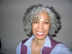 African American Natural Gray Hairstyles | Gray, Natural, and FIERCE!