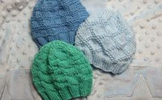Links to lots of baby hats knitted & crocheted