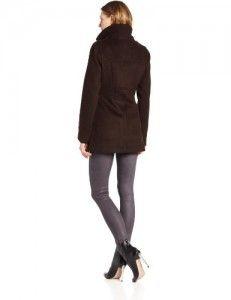 Coats women Kenneth Cole New York Women's Toggle Coat, Cappuccino, Medium On Sale Wool Coats, Coats For Women, New York, Medium, Jackets, Girls Coats, Down Jackets, New York City, Women's Coats