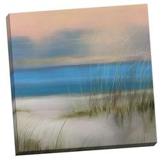 Portfolio Canvas Decor Sea Oats Two by Williams Painting Print on Wrapped Canvas