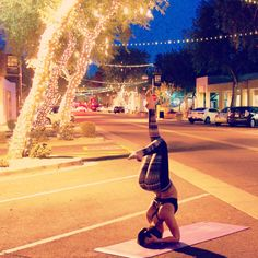 #Yoga on the streets - do it anywhere!