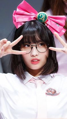 "Momo ""You Look Very Beautiful and Cute"" Twice Momo Nayeon, South Korean Girls, Korean Girl Groups, Sana Momo, Hirai Momo, Up Girl, Ulzzang Girl, These Girls, Cosplay"