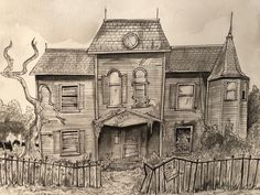 Stephen King's It House by Leonard Kenyon