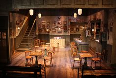 Peace in our Time. The Antaeus Company. Scenic design by Tom Buderwitz.