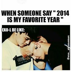 Even though...2014 is the year I even KNEW of Kpop's existence!