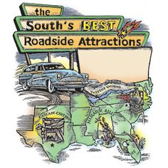 Hit the road and visit some of our favorite Southern unique, family friendly attractions.