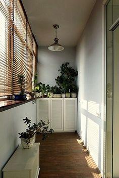 Фотография: Балкон в стиле Кантри, Квартира, Советы, как обустроить маленький балкон, идеи для маленького балкона, декор балкона – фото на InMyRoom.ru