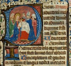 The Presentation of Christ in the Temple (Candlemas). Image from 15th c. Book of  Hours [LPL MS 455 f.57]