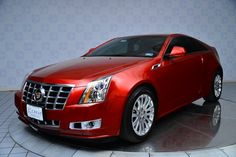 2014 Cadillac CTS Luxury Coupe - Color: Crystal Red Tintcoat
