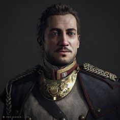 Lafayette, Scot Andreason on ArtStation at https://www.artstation.com/artwork/lafayette