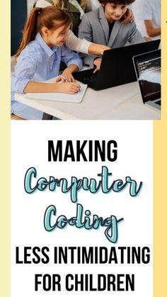 Computer Coding, Computer Technology, Hand Art Kids, Single Parenting, Parenting 101, Technology Lessons, Coding For Kids, Summer Activities For Kids, Kids Corner