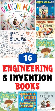 Want to find picture books that inspire engineering, tinkering, and invention in kids? Read one of these STEM themed picture books. Normal School, Find Picture, Picture Books, Middle School Classroom, Book Themes, Kids Reading, Math Activities, Science And Technology, Inventions