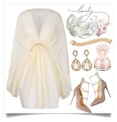 #bellsleevedress by chloepop on Polyvore featuring polyvore, fashion, style, STELLA McCARTNEY, Cartier, Vince Camuto and bellsleevedress