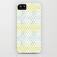 Polka Dots iPhone Case by Selkiesong