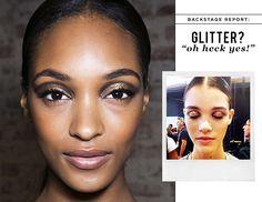 Glittering Lids:  Spring 2014 Trend