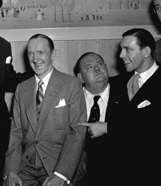 Legendary American comedy partnership Stan Laurel and Oliver Hardy are joined by British comedian Norman Wisdom. Laurel And Hardy, Stock Pictures, Cute Pictures, Norman Wisdom, Jessica Mendoza, Funniest Pictures Ever, Stan Laurel, London Hotels, Royalty Free Photos