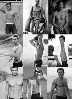 All the hottest guys together with no shirts on... Complete brilliance
