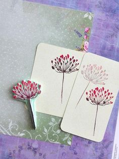 Dandelion rubber stamp, montessori stamp, clay stamp, scrapbooking