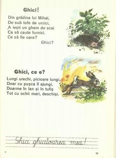 Ghicitori Romanian Language, Vintage School, Kids Reading, Worksheets For Kids, Kids Education, Nursery Rhymes, Speech Therapy, Preschool Activities, Projects For Kids
