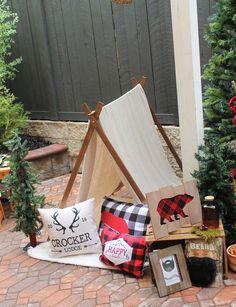 Lumberjack Party Birthday Party Ideas   Photo 1 of 19