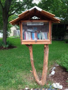 Lisa Boone. Austin, TX.   I work in an Elementary library and this was a Christmas gift from my husband and 2 boys! They built it themselves! I love it!