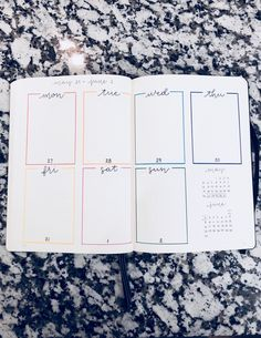 journal ideas 2019 Custom Bullet Journal Planner *Completed bullet journal hand drawn with your input Custom Bullet Journal Planner Abgeschlossene Bullet Journal Hand Bullet Journal Planner, Bullet Journal Weekly Layout, Bullet Journal Writing, Bullet Journal Notebook, Bullet Journal Aesthetic, Bullet Journal Ideas Pages, Bullet Journal Spread, Bullet Journal Inspo, Bullet Journal With Stickers