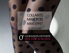 Pour un MAXI POIS, MAXI EFFET c'est par ici : http://www.lesjoliesgambettes.fr/boutique/25-collant #collant #collants #gambettes #joliesgambettes #crazygambettes #frenchgambettes #freegambettes #collant_lover #collantaddict #legs #leg #jambes #italiantights #collantpois